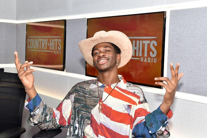 <p>Lil Nas really repped the US of A from head to toe on a Fourth of July press trip in the UK.</p>