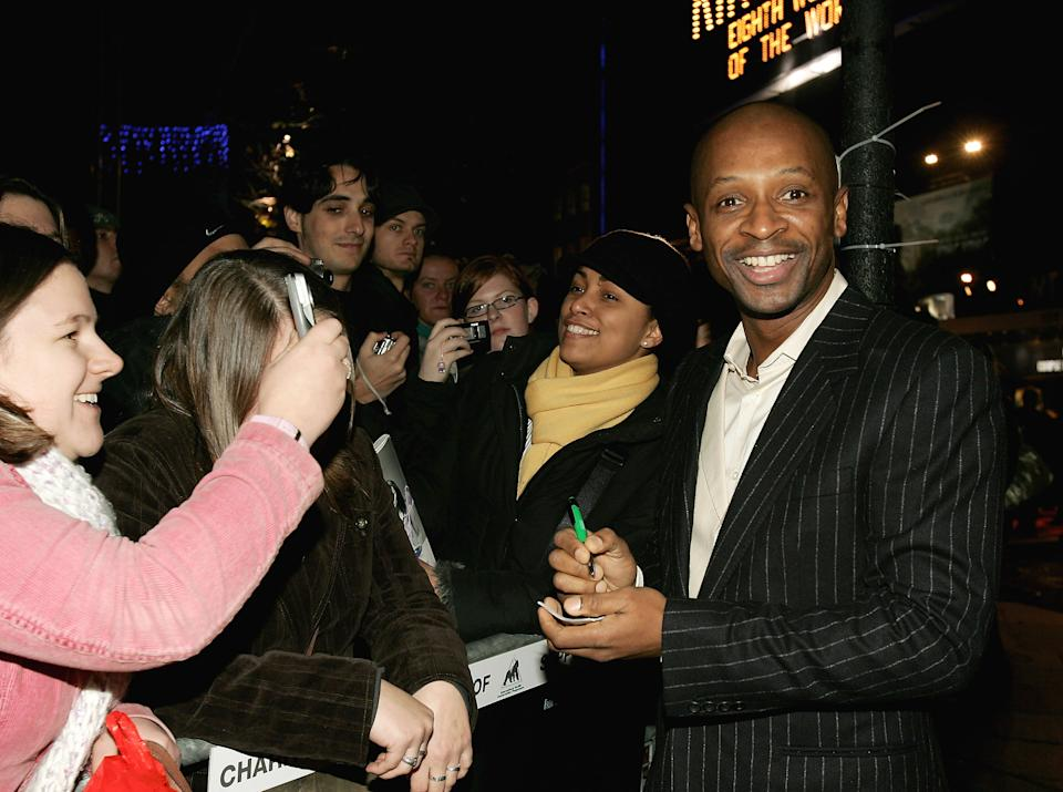 Andy Abraham found fame on The X Factor.(Photo by Gareth Cattermole/Getty Images for VW)