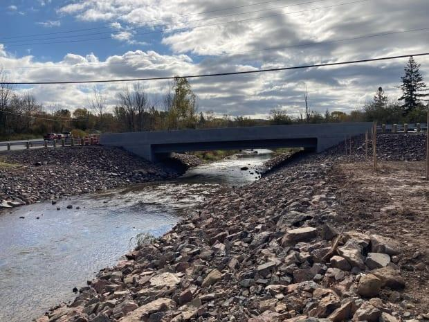 Pictured is the new bridge named after Charlotte Watson. It opened last fall to replace a covered bridge that was washed away by a storm in 2015.