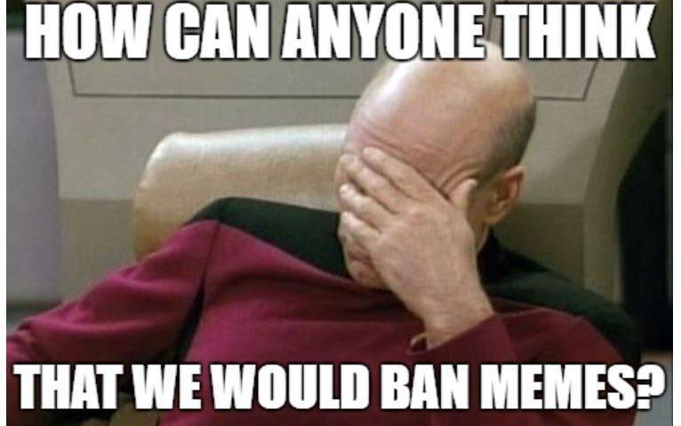 The European Commission had hit back against the suggestion that it would ban memes - European Commission/Twitter