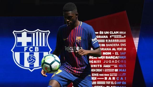 <p>Ousmane Dembele spent one season at Bundesliga sideBorussia Dortmund before Barcelona signed him for an eye-watering £135m. Dembele is now the second most expensive player of all time and will be tasked with replacing Neymar at the Camp Nou. </p> <br><p>Dembele is a pacey and skillful winger that has many tricks in his arsenal. The Frenchman is expected to grow into a world-class player in the next few seasons. </p>
