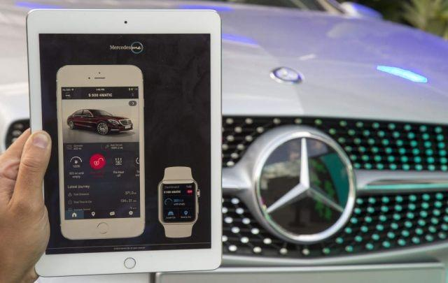 The new Mercedes me app for iOS and Android