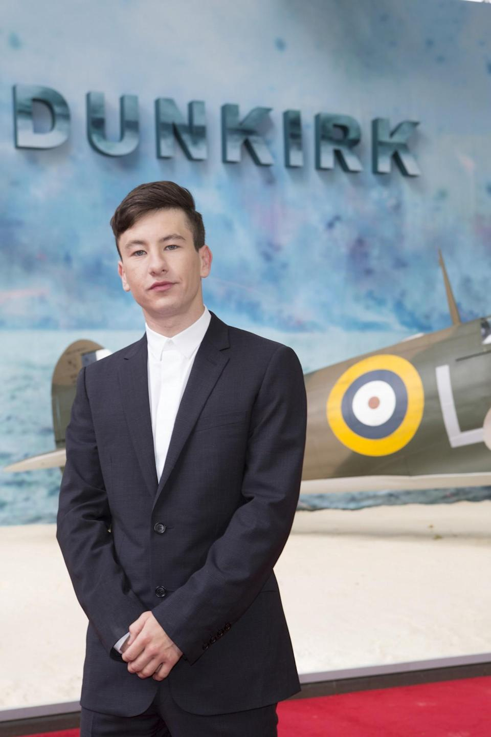 <p>Barry Keoghan is a stowaway who travels to France in 'Dunkirk' (WB) </p>