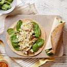 <p>Shredded chicken and chopped green apples are a delightful combination in this quick and easy curried sandwich wrap.</p>