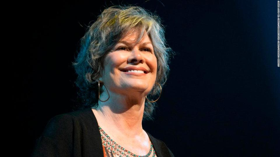 """<p>Singer and songwriter K.T. Oslin, shown here in concert as part of the 9th Annual Texas Heritage Songwriters' Hall of Fame Awards Show in 2014 in Austin, Texas. </p><div class=""""cnn--image__credit""""><em><small>Credit: Suzanne Cordeiro/Corbis Entertainment/Corbis via Getty Images / Corbis via Getty Images</small></em></div>"""