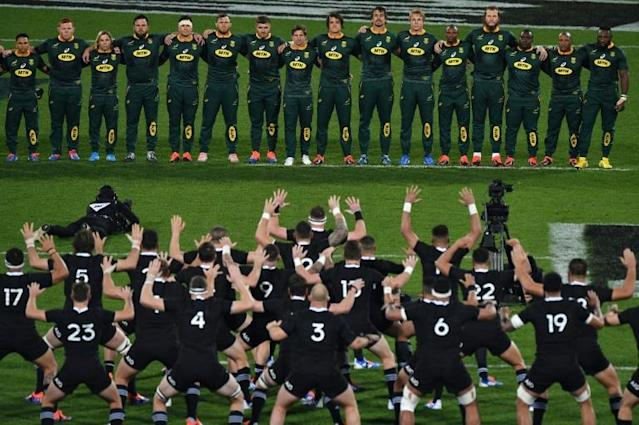South Africa and New Zealand are two of rugby's greatest rivals (AFP Photo/Marty MELVILLE)