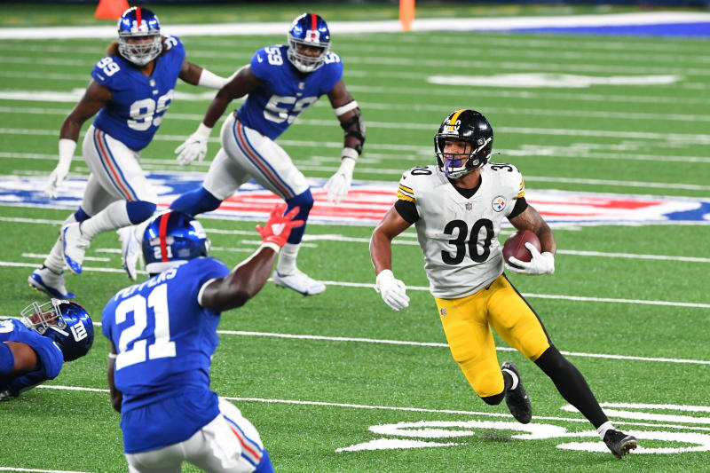 Steelers RB James Conner appears ready to roll this week