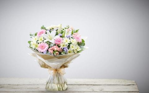Interflora flower delivery Country Garden bouquet