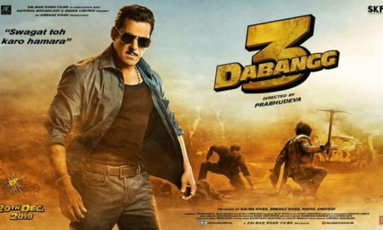 Salman Khan's Dabangg 3 Motion Poster Released Today
