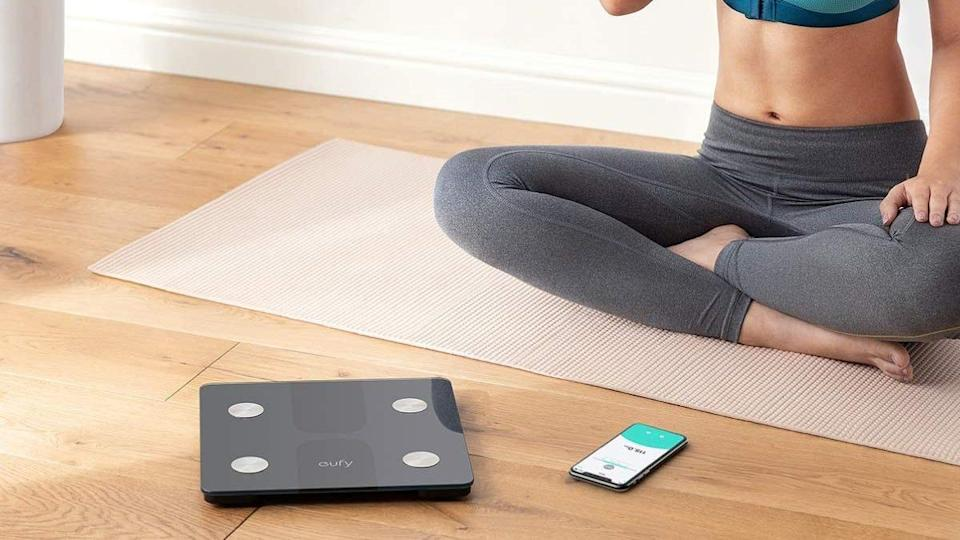 This Eufy smart scale impressed shoppers with the multiple readings it provides and easy setup process.