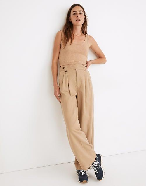 """<h2>Madewell Harlow Wide-Leg Pants</h2><br>""""When I tell you that I need these pants, I literally NEED these pants. Oh my god! I feel like they were meant for me. They're so perfect for fall, and they are androgynous enough to live permanently in my closet."""" –<em> Mercedes Viera, Associate Deals Writer </em><br><br><em>Shop <a href=""""http://madewell.com/"""" rel=""""nofollow noopener"""" target=""""_blank"""" data-ylk=""""slk:Madewell"""" class=""""link rapid-noclick-resp"""">Madewell</a></em><br><br><strong>Madewell</strong> Harlow Wide-Leg Pants, $, available at <a href=""""https://go.skimresources.com/?id=30283X879131&url=https%3A%2F%2Fwww.madewell.com%2Fharlow-wide-leg-pants-MC994.html"""" rel=""""nofollow noopener"""" target=""""_blank"""" data-ylk=""""slk:Madewell"""" class=""""link rapid-noclick-resp"""">Madewell</a>"""