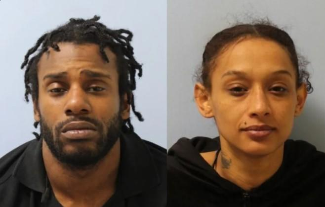 Levi Paschal and his partner Clementine Jones. (Police)