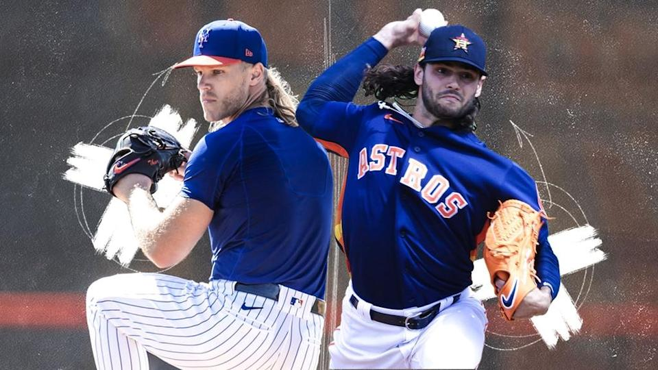 Noah Syndergaard and Lance McCullers TREATED ART