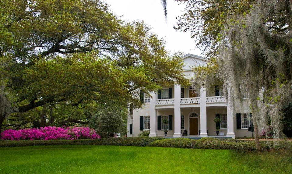 "<p>This sweeping Old South abode was originally the private home of General John A. Quitman, who was believed to have been poisoned and killed by abolitionists. Now a stunning inn, the historic Natchez property has reportedly experienced numerous visits from the General's ghost, including occurrences of him checking on guests in their rooms at night.</p><p> <a class=""link rapid-noclick-resp"" href=""https://go.redirectingat.com?id=74968X1596630&url=https%3A%2F%2Fwww.tripadvisor.com%2FHotel_Review-g60910-d78698-Reviews-Monmouth_Historic_Inn_Gardens_Natchez-Natchez_Mississippi.html&sref=https%3A%2F%2Fwww.countryliving.com%2Flife%2Ftravel%2Fg2689%2Fmost-haunted-hotels-in-america%2F"" rel=""nofollow noopener"" target=""_blank"" data-ylk=""slk:PLAN YOUR TRIP"">PLAN YOUR TRIP</a></p>"