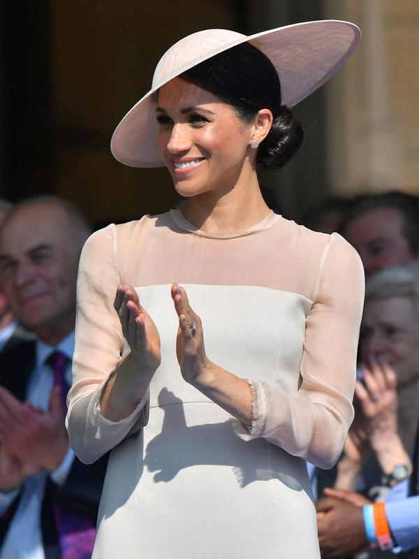 Meghan Markle. (Dominic Lipinski/Pool Photo via AP)