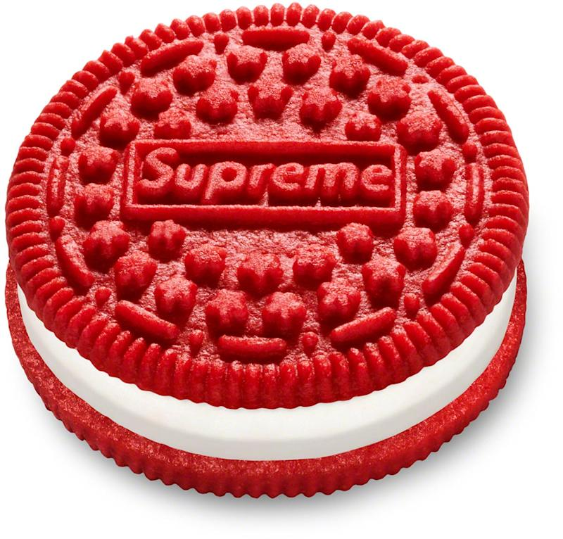 Supreme and Oreo paired up for a special cookie. They're reselling on eBay for thousands.