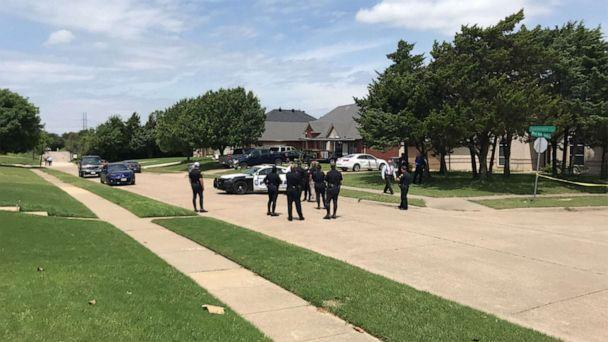 PHOTO: Police are investigating the death of a toddler found on a residential Dallas street on May 15, 2021. (WFAA)