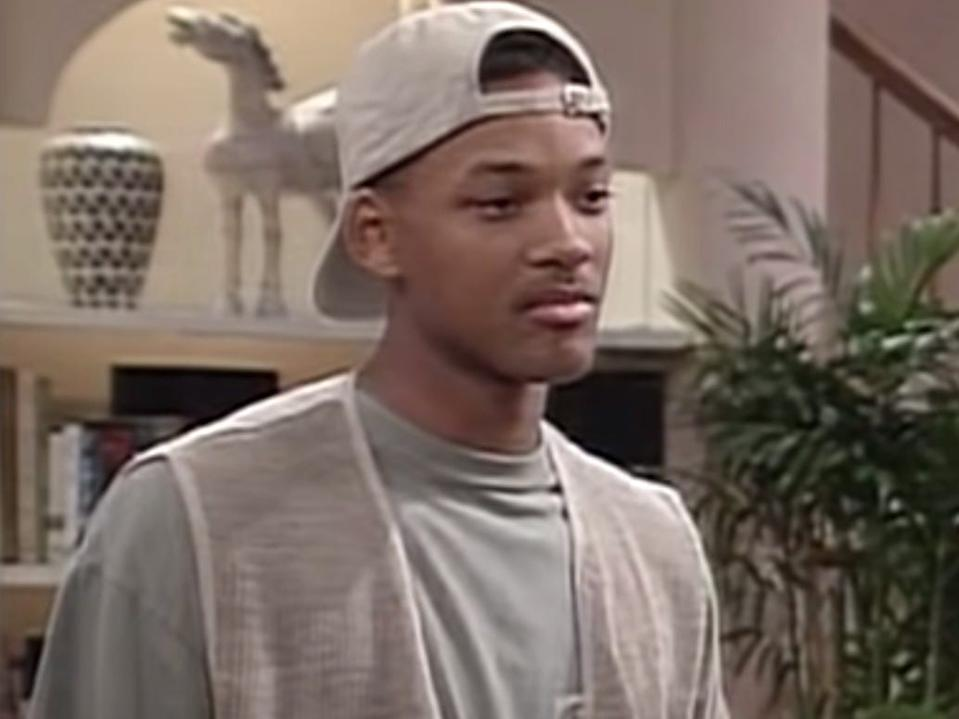 """Will Smith on """"The Fresh Prince of Bel-Air."""""""