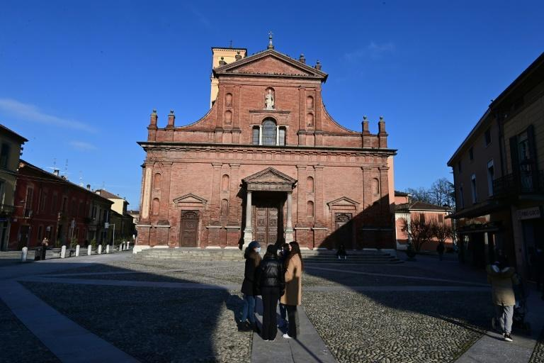 In a ceremony on Sunday, the northern Italian city of Codogno marks one year since it recorded the first locally acquired case of Covid-19 in Italy