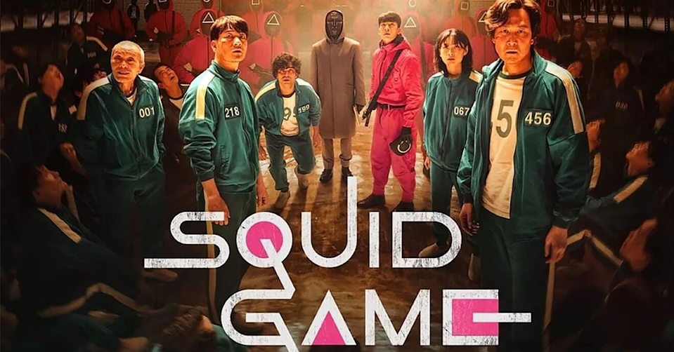 Squid Game poster.