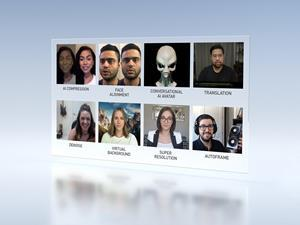 From super resolution to noise removal, the cloud-native NVIDIA Maxine streaming video AI platform offers a broad range of new AI-powered features for video conferencing service providers.