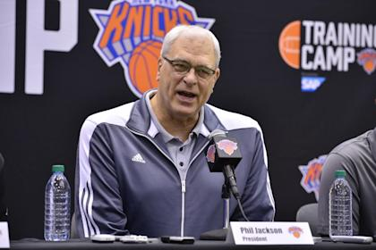 Phil Jackson hired Derek Fisher after Steve Kerr first rejected an offer from the Knicks. (NBAE/Getty Images)