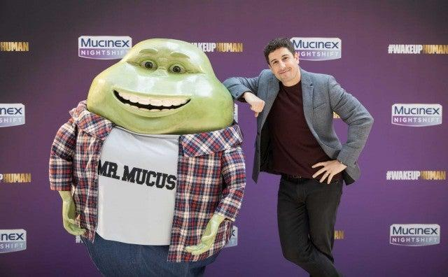 jason biggs with mucinex