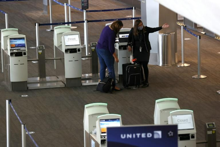 United Airlines has seen an increae in flight cancellations in recent days with the latest rise in US Covid-19 cases