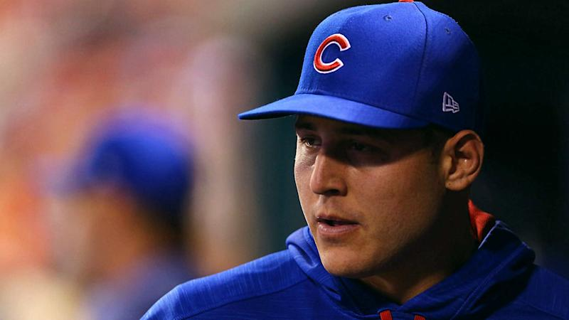 Cubs' Anthony Rizzo curses politicians, who 'don't really give a f— about us'