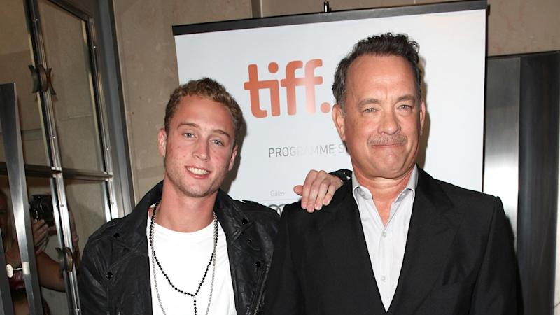 Tom Hanks' Son Chet Reveals They're Filming a Movie Together for the First Time (Exclusive)