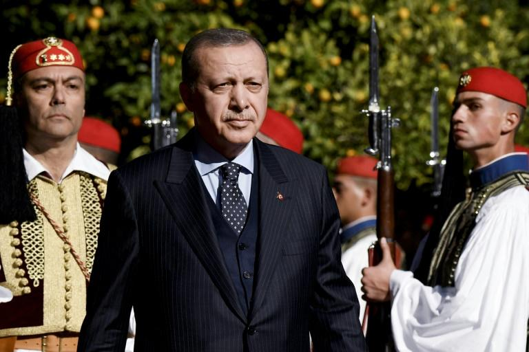 Turkish President Recep Tayyip Erdogan ruffled feathers in Greece at the start of a two-day state visit
