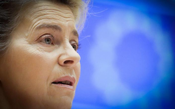 The European Commission president was speaking as MEPs prepared to ratify the deal thrashed out between the EU and UK. - AFP