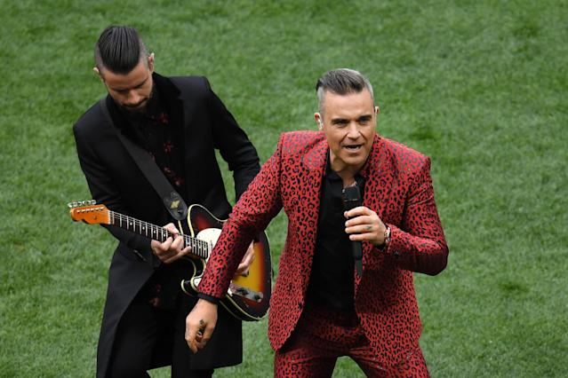 <p>Robbie Williams (Getty Images) </p>
