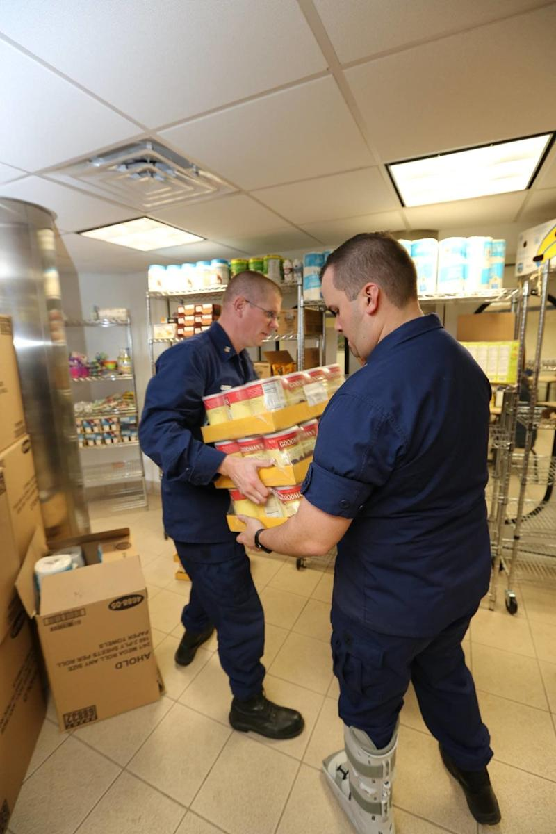 The Massachusetts Military Support Foundation is working to bring food and other basic needs to military members affected by the government shutdown. In a matter of two weeks, two of its temporary pantries went through three months' worth of diapers. (Photo: Massachusetts Military Support Foundation/Facebook)