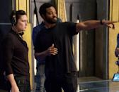 "<p>Ryan Coogler, who shared a <a href=""https://www.popsugar.com/celebrity/celebrity-reactions-to-chadwick-boseman-death-47738721"" class=""link rapid-noclick-resp"" rel=""nofollow noopener"" target=""_blank"" data-ylk=""slk:heartfelt tribute to Boseman"">heartfelt tribute to Boseman</a> after the actor's passing, will return as the director and writer. Marvel Studios president Kevin Feige is also producing the film. </p>"