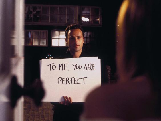 Andrew Lincoln in 'Love Actually' (Rex Features)