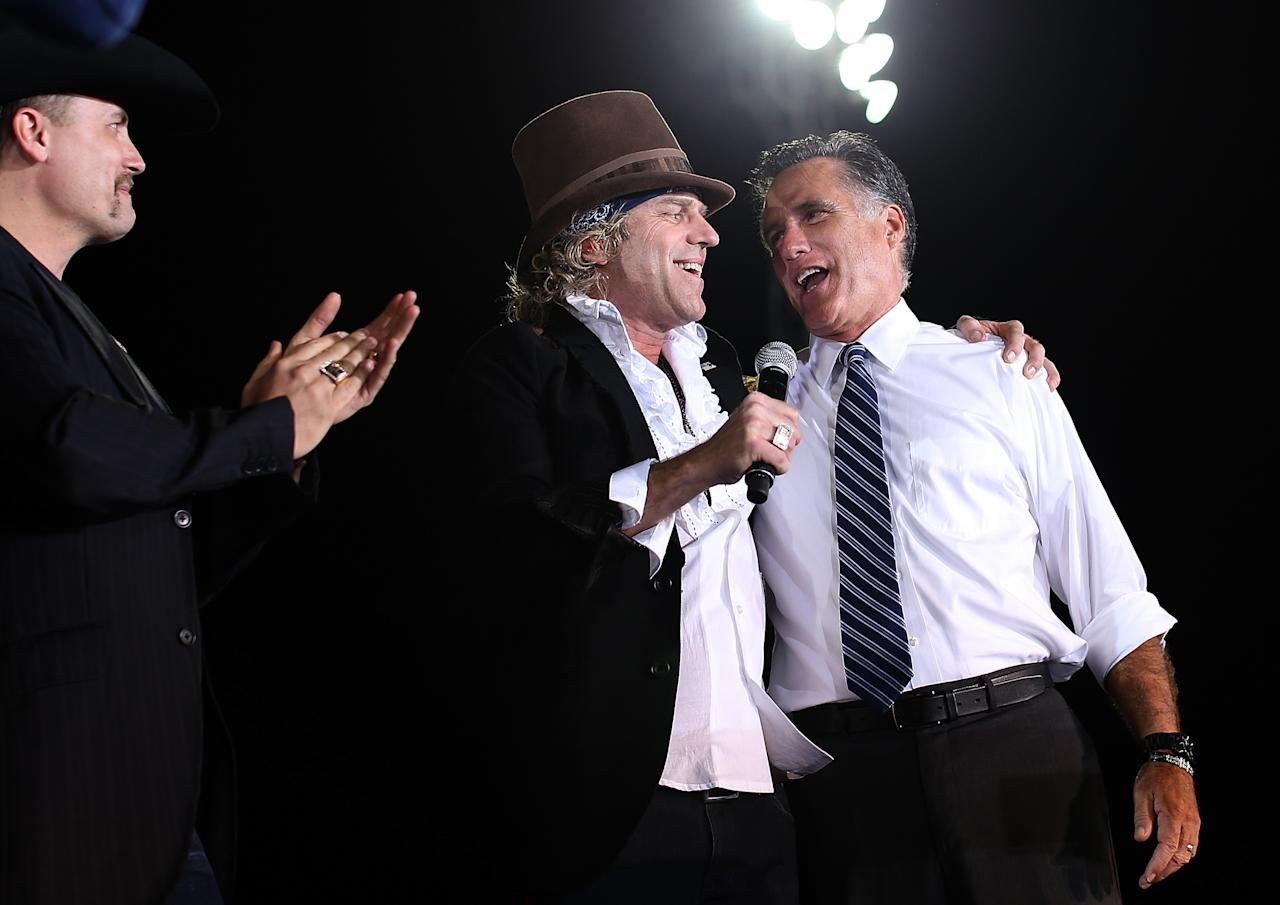 Celebrity Supporters of Mitt Romney | Mitt Romney and Music
