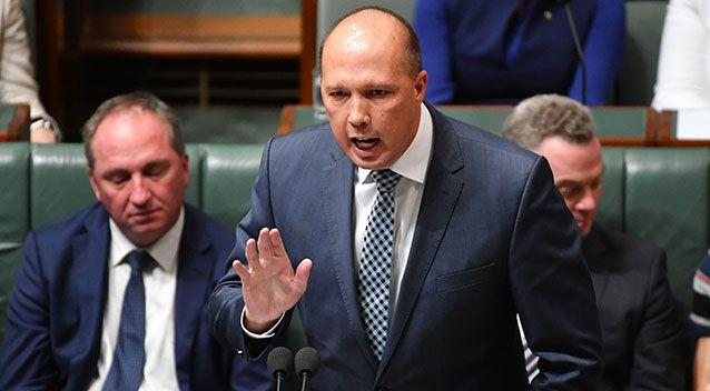 Immigration minister Peter Dutton. Source: AAP