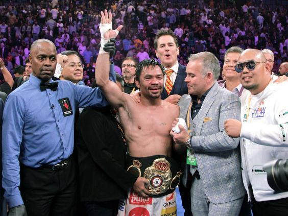 We will never see another boxer of Manny Pacquiao's like again (AFP/Getty)
