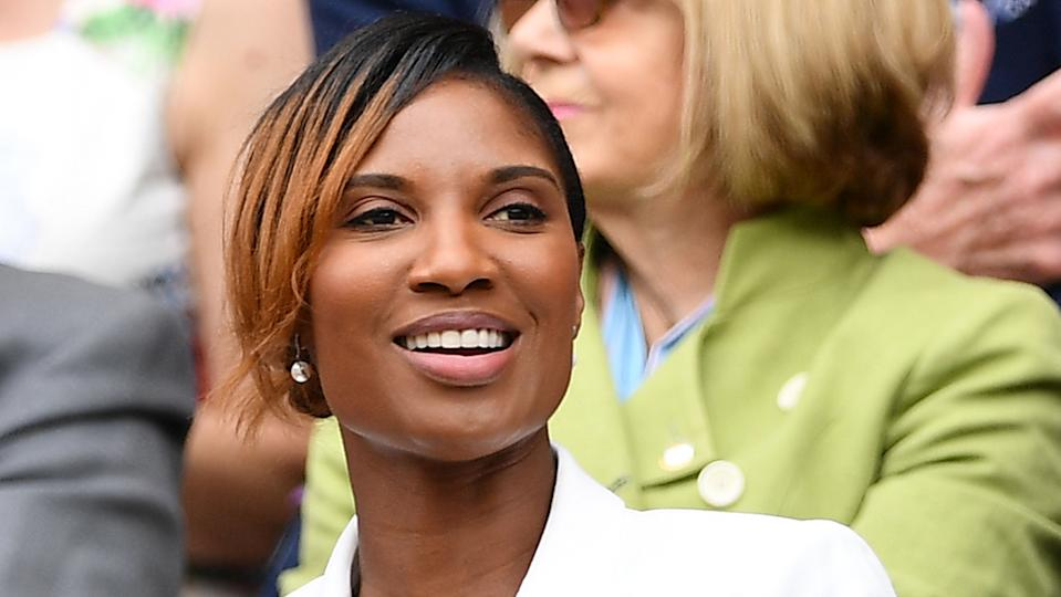 Olympic gold medallist Denise Lewis said she mistook pregnancy symptoms for those of the perimenopause! (Image: Getty Images)