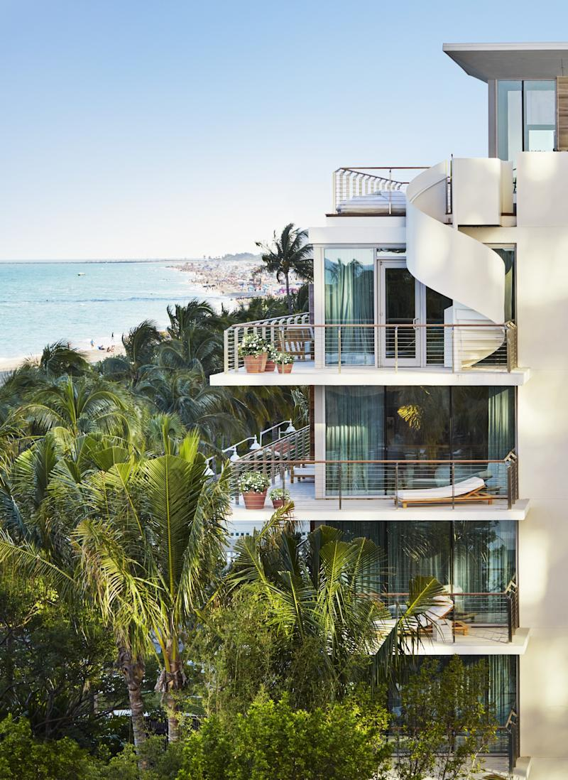 The Miami Edition, which has been an industry leader in both design and sustainability.