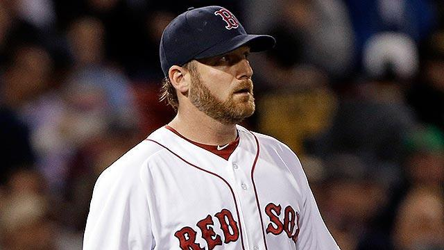 Boston's Ryan Dempster hits Alex Rodriguez but fails to get vengeance