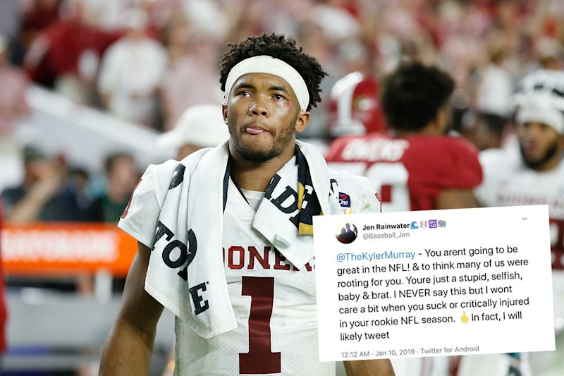 A s blogger fired by SB Nation after ugly Twitter rant aimed at Kyler Murray 8eef53d53