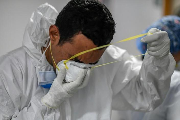 Officially Venezuela has had 165,000 Covid-19 cases and nearly 1,700 deaths - but observer groups such as Human Rights Watch believe the number of cases is much higher