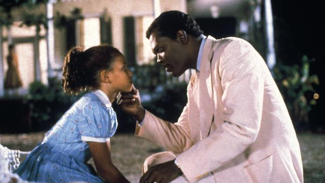 Jurnee Smollett-Bell and Samuel L. Jackson in 'Eve's Bayou' (Trimark Pictures)