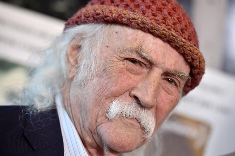 David Crosby at his film's Los Angeles premiere. (Photo: Axelle/Bauer-Griffin/FilmMagic)
