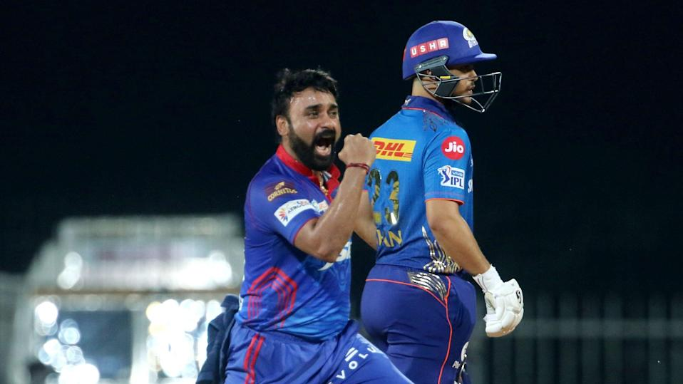Defending champions Mumbai Indians were restricted to 137/9 by Delhi Capitals with the help of Amit Mishra's 4 wickets.