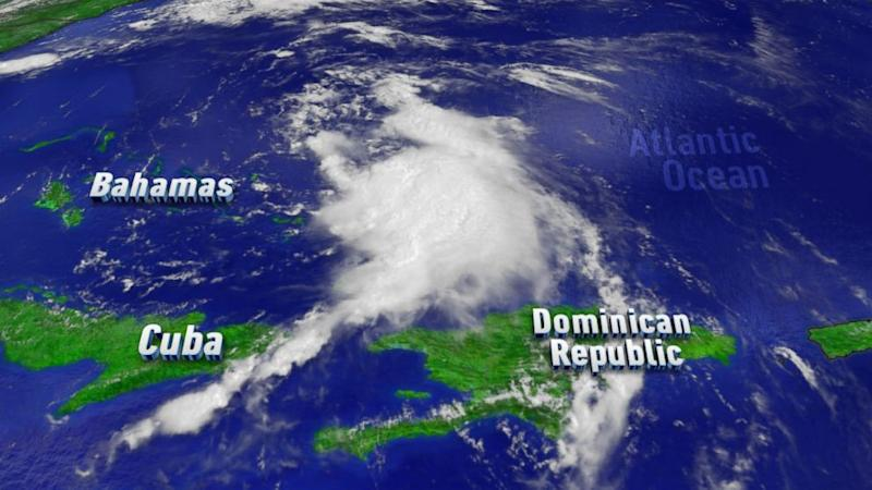 Tropical Storm Cristobal Moves Northwest, Hits Parts of the Bahamas