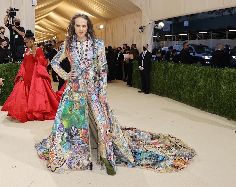 """<h1 class=""""title"""">Jordan Roth, The 2021 Met Gala Celebrating In America: A Lexicon Of Fashion - Arrivals</h1><cite class=""""credit"""">Getty</cite>"""
