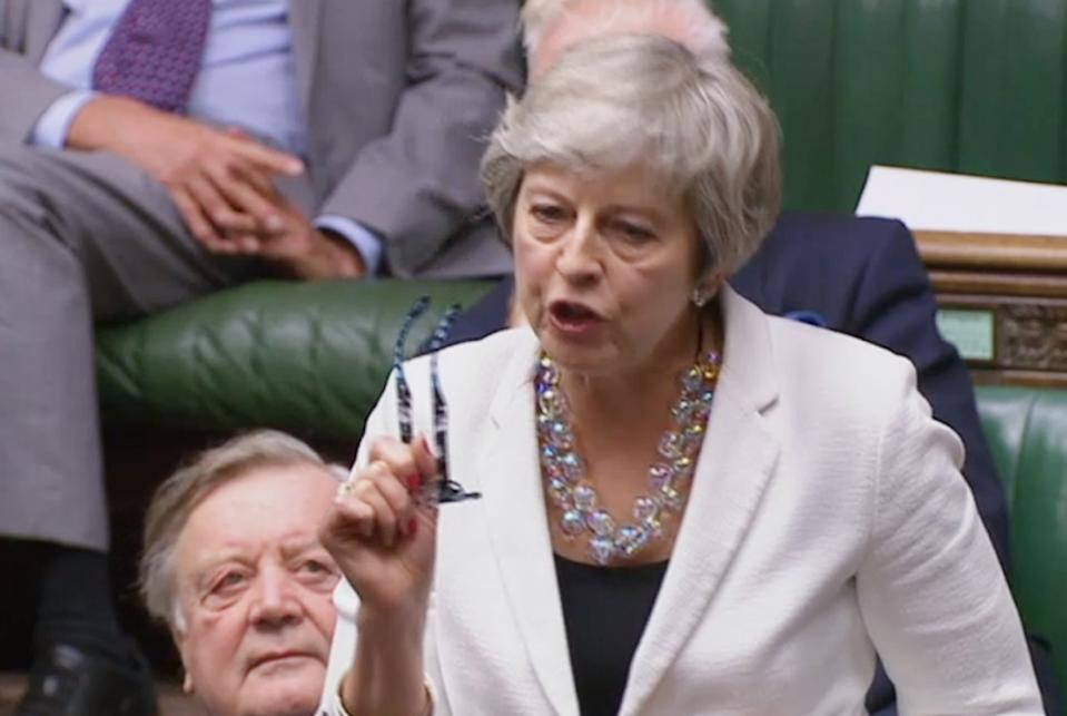 Boris Johnson succeeded Theresa May as Prime Minister (Picture: House of Commons/PA Wire)